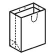 Штамп для вырубки вертикального бумажного пакета v 250-350-140 (1 шт. на штампе). Привью 110x110 пикселов.