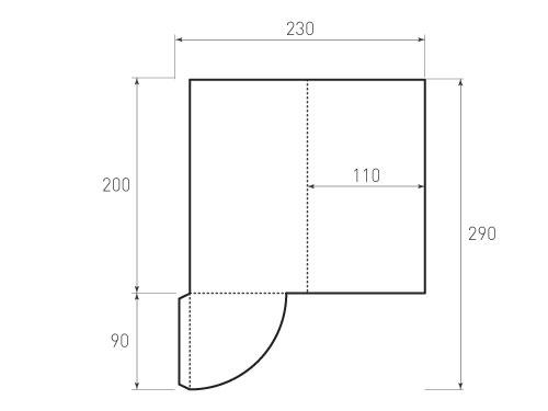 Штамп для вырубки папки фс 110x200. Привью 500x375 пикселов.