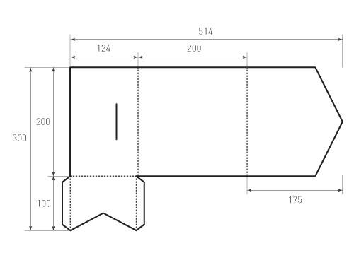 Штамп для вырубки папки fs 200x200. Привью 500x375 пикселов.