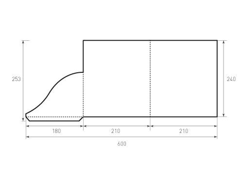 Штамп для вырубки папки фс 210x240. Привью 500x375 пикселов.
