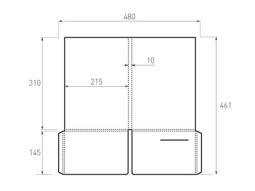 Штамп для вырубки папки фс 215x310x10. Привью 500x375 пикселов.