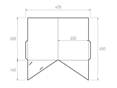 Штамп для вырубки папки фс 220x305. Привью 500x375 пикселов.