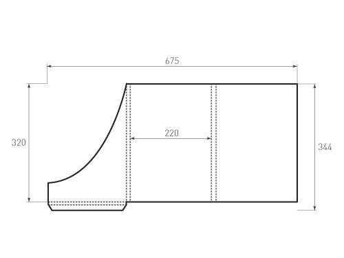 Штамп для вырубки папки фс 220x320x13. Привью 500x375 пикселов.