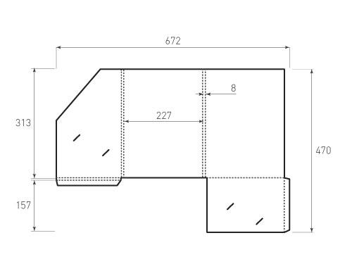 Штамп для вырубки папки фс 227x313x8 версия 1. Привью 500x375 пикселов.