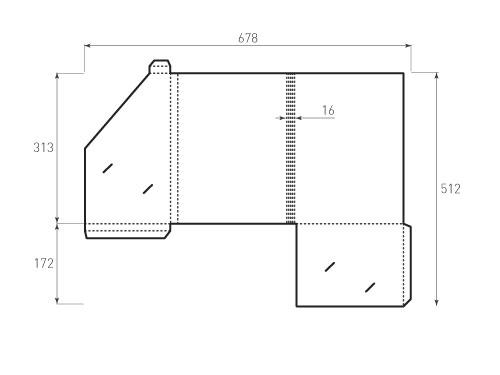 Штамп для вырубки папки фс 227x313x16 версия 1. Привью 500x375 пикселов.