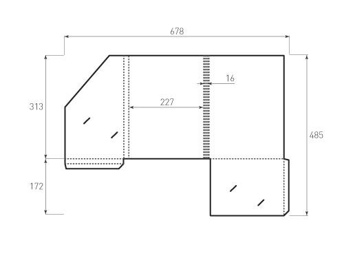 Штамп для вырубки папки фс 227x313x16 версия 2. Привью 500x375 пикселов.