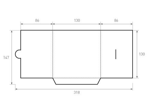 Штамп для вырубки папки фв 130x130. Привью 500x375 пикселов.