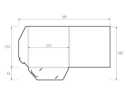 Штамп для вырубки папки фв 215x215. Привью 500x375 пикселов.