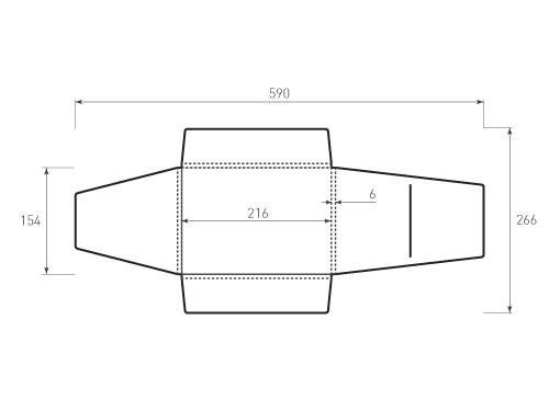 Штамп для вырубки папки фв 216x154x6 конверт. Привью 500x375 пикселов.