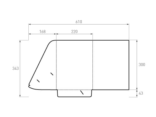 Штамп для вырубки папки фв 220x300. Привью 500x375 пикселов.