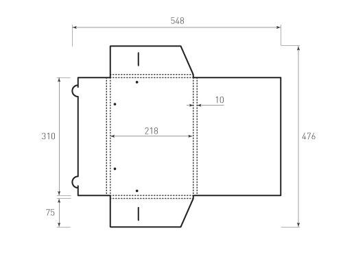 Штамп для вырубки папки фв 220x310x10 с резинками. Привью 500x375 пикселов.