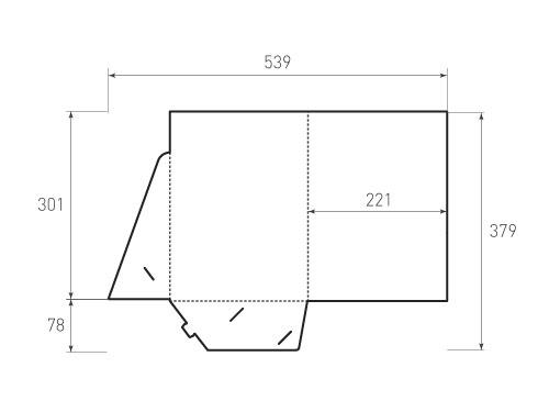 Штамп для вырубки папки фв 221x301. Привью 500x375 пикселов.