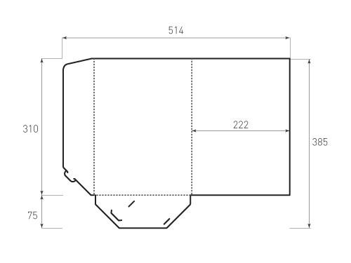 Штамп для вырубки папки фв 222x310. Привью 500x375 пикселов.