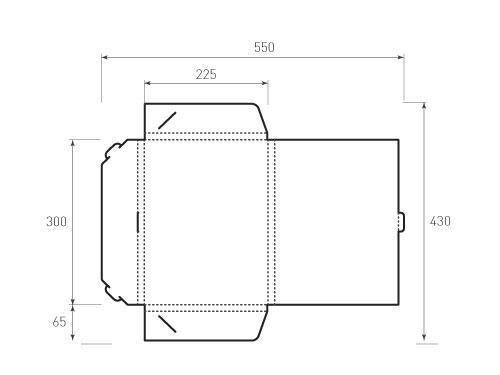 Штамп для вырубки папки фв 225x300x15. Привью 500x375 пикселов.