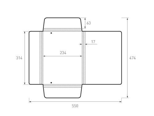 Штамп для вырубки папки фв 234x314x17. Привью 500x375 пикселов.