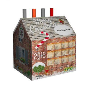 Не поверите, календарь-домик!