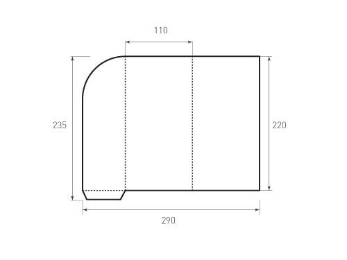 Штамп для вырубки папки фс 110x220 2Ф. Привью 500x375 пикселов.