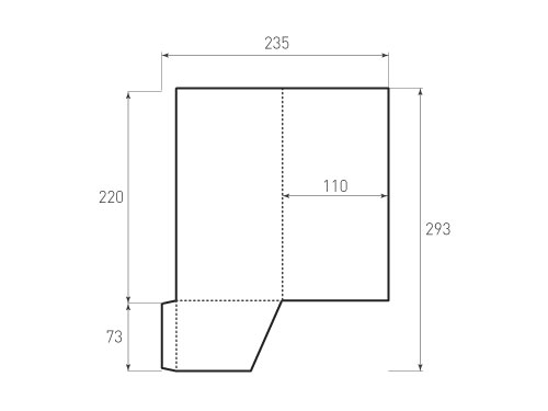 Штамп для вырубки папки фс 110x220. Привью 500x375 пикселов.