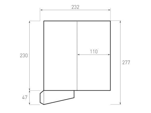 Штамп для вырубки папки фс 110x230. Привью 500x375 пикселов.