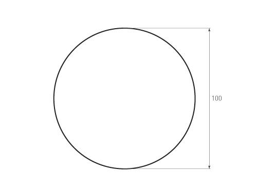 Штамп для вырубки круга krug d100 1. Привью 500x375 пикселов.