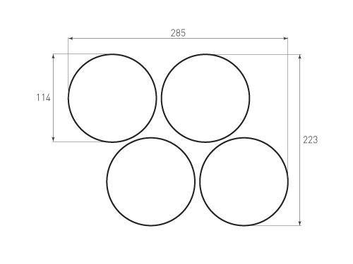 Штамп для вырубки круга krug d114 4. Привью 500x375 пикселов.