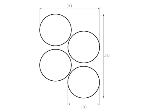 Штамп для вырубки круга krug d180 4. Привью 500x375 пикселов.