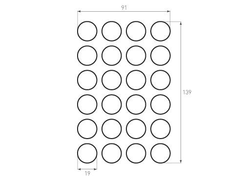 Штамп для вырубки круга krug d19 24. Привью 500x375 пикселов.