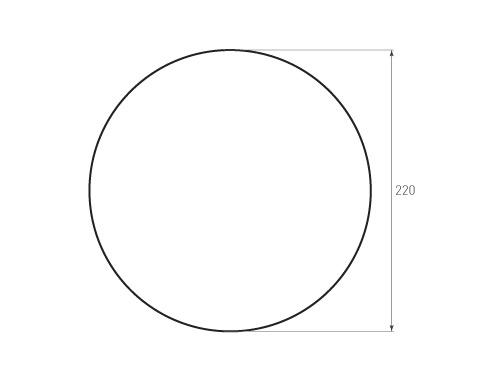 Штамп для вырубки круга krug d220 1. Привью 500x375 пикселов.