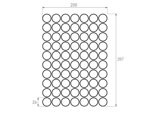 Штамп для вырубки круга krug d26 70. Привью 500x375 пикселов.