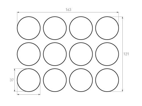 Штамп для вырубки круга krug d37 12. Привью 500x375 пикселов.