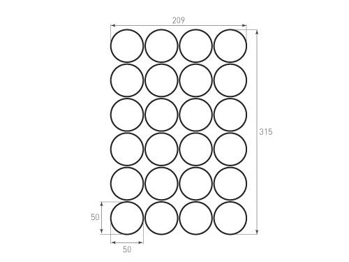 Штамп для вырубки круга krug d50 24. Привью 500x375 пикселов.