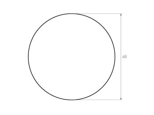 Штамп для вырубки круга krug d60 1. Привью 500x375 пикселов.