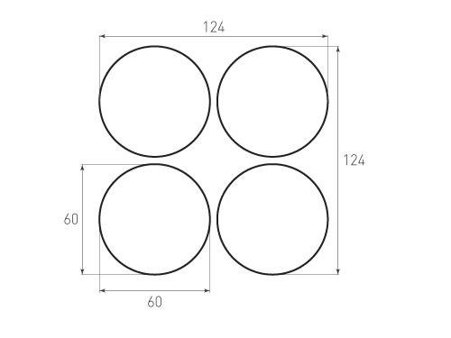 Штамп для вырубки круга krug d60 4. Привью 500x375 пикселов.