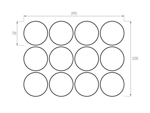 Штамп для вырубки круга krug d70 12. Привью 500x375 пикселов.