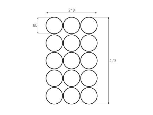 Штамп для вырубки круга krug d80 15. Привью 500x375 пикселов.