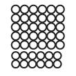 Штамп для вырубки круга д30 мм д28 мм. 30 и 12 штук. Привью 110x110 пикселов.
