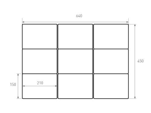 Штамп для вырубки карточки скругление 210x150 р5. Привью 500x375 пикселов