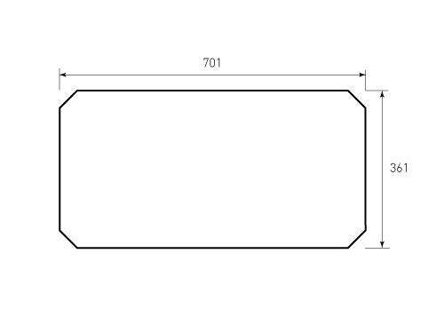 Штамп для коробки Box M 225x317x75 Cover. Привью 500x375 пикселов
