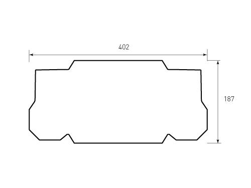 Штамп для коробки Box M 225x317x75 UXO. Привью 500x375 пикселов