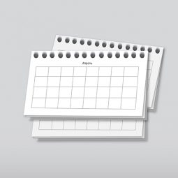Дизайн календарных сеток