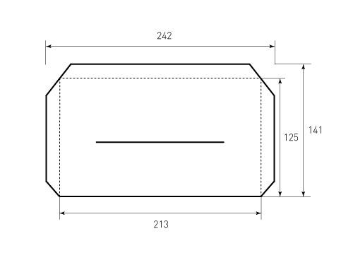 Штамп для кармана 213x125. Привью 500x375 пикселов