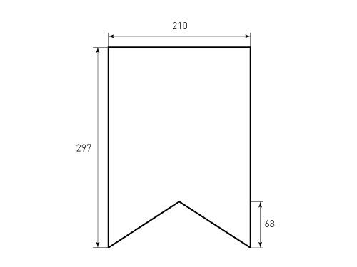 Штамп для флага А4. Привью 500x375 пикселов