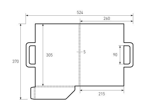 Штамп для портфеля 260x305x03 папка. Привью 500x375 пикселов