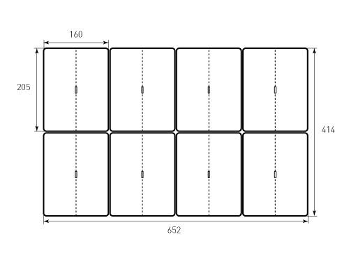 Штамп для Хенгер мини 205x160. Привью 500x375 пикселов