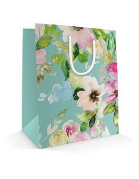 540x395 Праздничный бумажный пакет к 8 марта Счастье близко