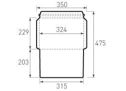 Ц4 горизонтальный конверт 324x229, курьерский