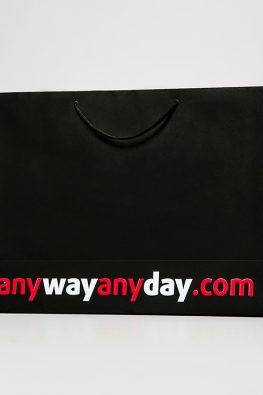 "Бумажный пакет ""AnyWayAnyDay"""