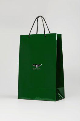 """Бумажный пакет """"Bentley"""""""