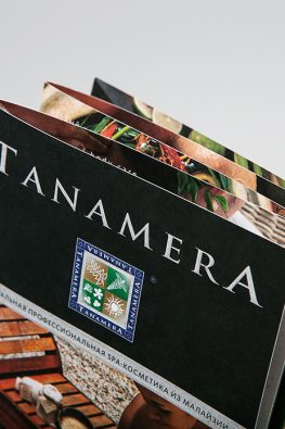 """рекламный буклет """"Tanamera"""""""