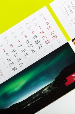 настольный календарь для компании ASKO (Scandinavia)